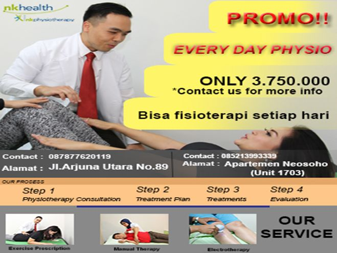 "Promo ""EVERY DAY FISIOTERAPI"""