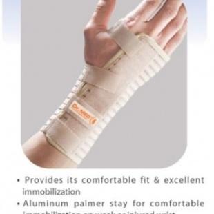 DR.MED Elastic Wrist Splint Brace / Alat Dukungan Tangan (DR-W010) (S)